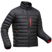 Men's trekking down feather jacket MT500 -10°C light weight
