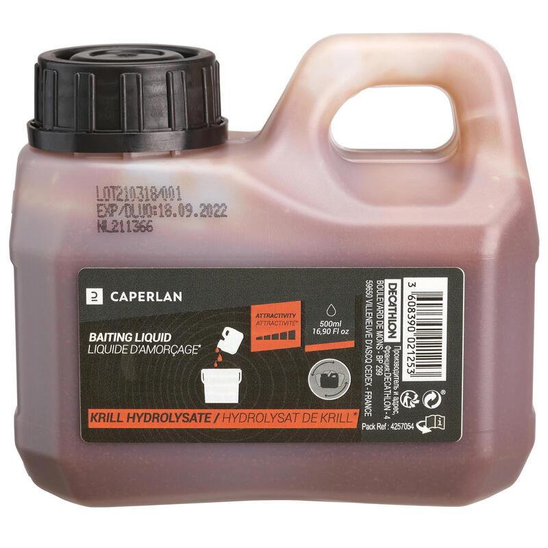 Liquide d'amorçage Hydrolysat de Krill Pêche de la carpe
