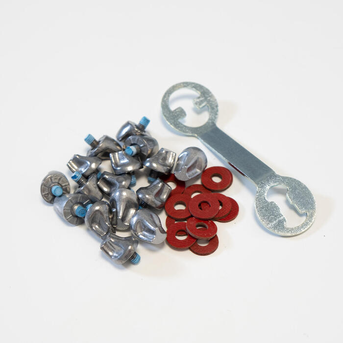 11/13mm Aluminium Screw-In Rugby And Football Studs Smartpower