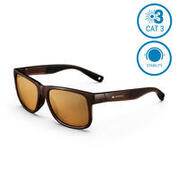 Adult Hiking Sunglasses MH140 Brown - Category 3