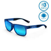 Adult Hiking Sunglasses MH140 Blue - Category 3