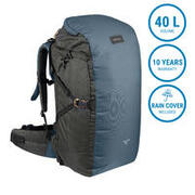 Travel Backpack 40 Liters TRAVEL 100 - Blue