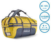 Duffle Bag Extend 80 to 120 Litre - yellow