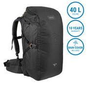Travel Backpack 40 Liters TRAVEL 100 - Black