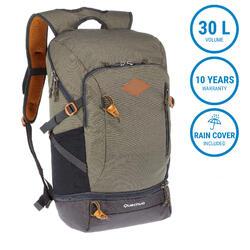 Hiking Bag 30 Litre (with Raincover) NH500 - Khaki
