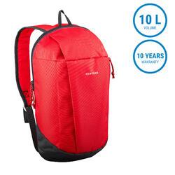 Hiking Bag 10 Litre NH100 - Red
