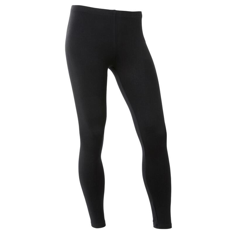 Basic legging voor meisjes zwart