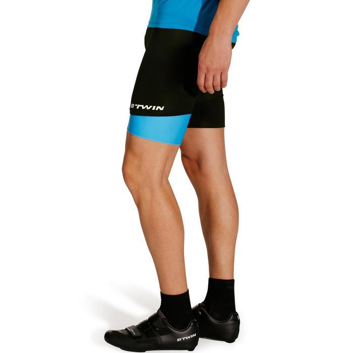 Roadcycling 500 Men's Bibless Cycling Shorts - Black/Blue