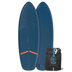 Opblaasbaar touring supboard voor beginners 9 feet blauw