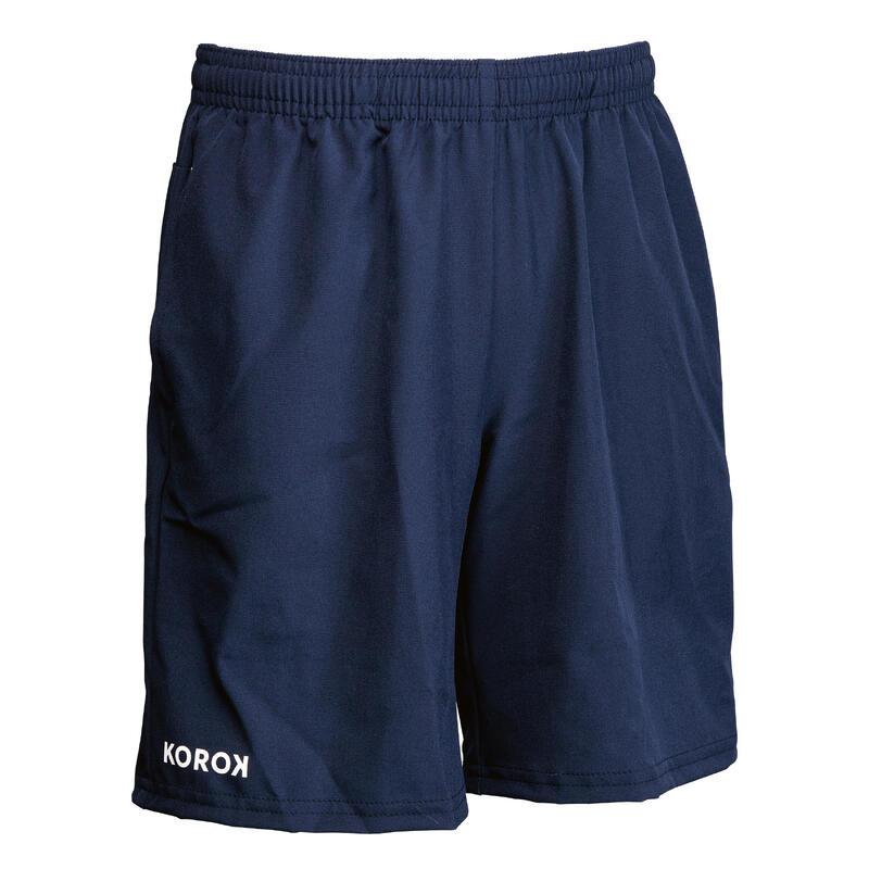 Boys' Field Hockey Shorts FH500 - Navy Blue