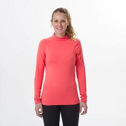 Sous-vêtement de ski femme 500 haut corail