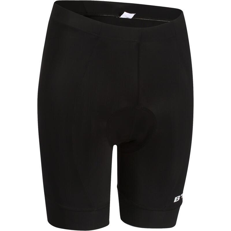 Pantaloncini ciclismo uomo RC100 neri