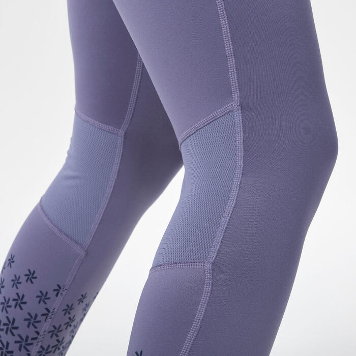 Skiunterwäsche Funktionshose 500 Damen violett