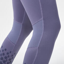 Sous-vêtement de ski femme 500 bas violet