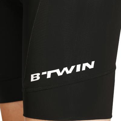 מכנסי רכיבת כביש קצרים מסוג סינר - שחור