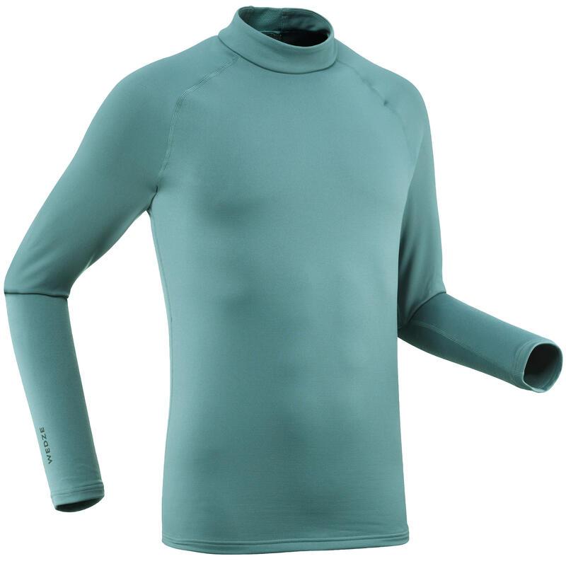 Bluză schi 500 Verde Bărbaţi