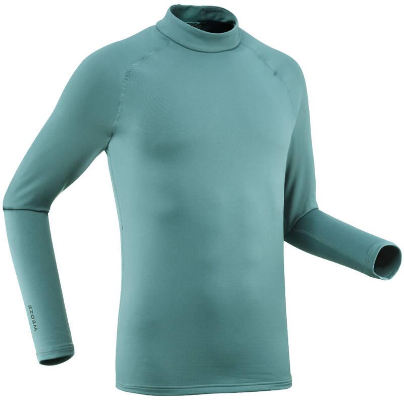 Pánske spodné tričko SKI 500 zelené