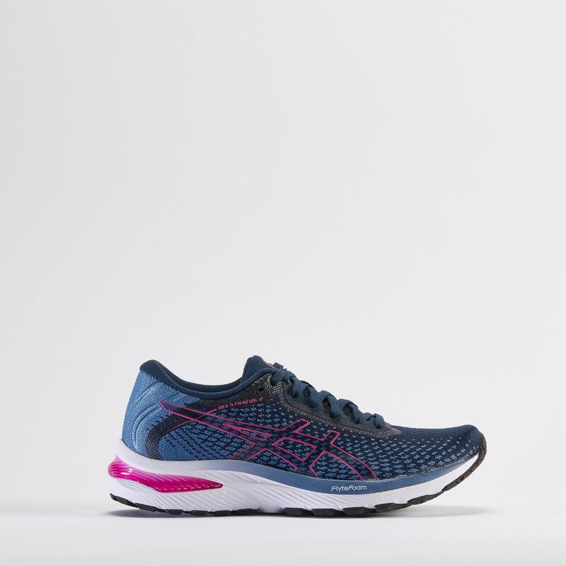 Zapatillas Running Asics Gel Stratus 2 Mujer Azul