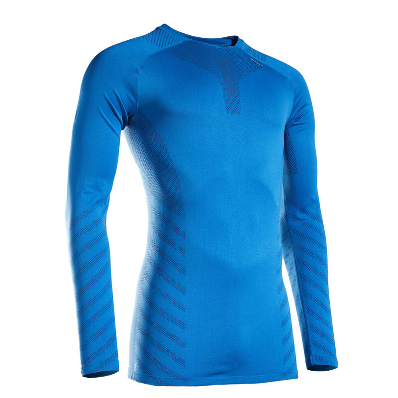 TEE SHIRT RUNNING MANCHES LONGUES HIVER HOMME KIPRUN SKINCARE EDITION LIMITEE