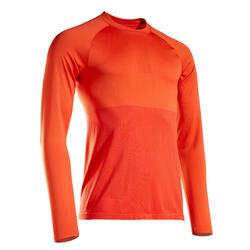 T-shirt manica lunga running uomo KIPRUN CARE edizione limitata arancione