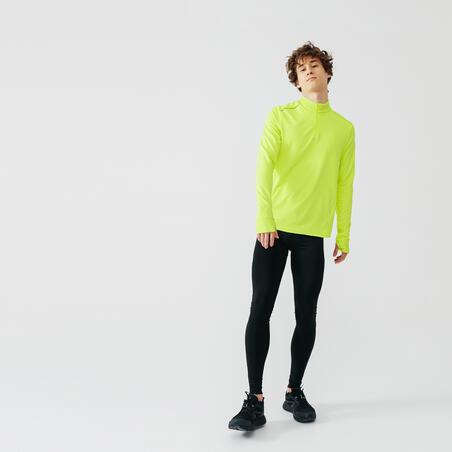 Run Warm Long-Sleeved Running T-Shirt – Men