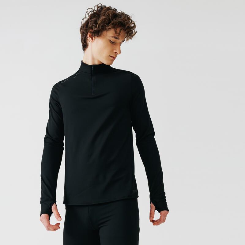 Run Warm Long-sleeved Running T-shirt - Men