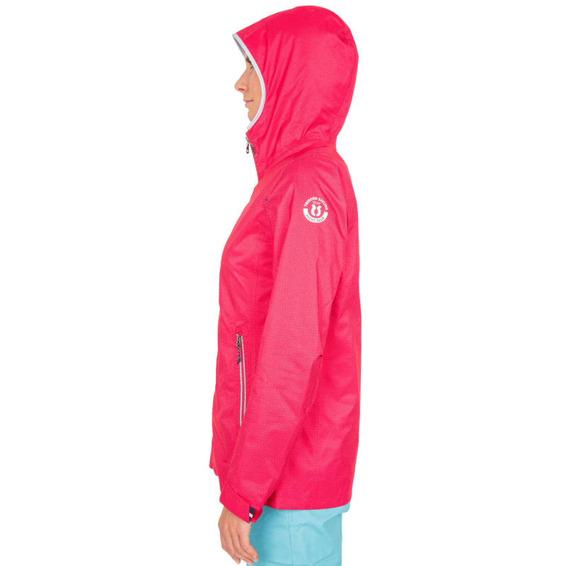 100 Women's Sailing Oilskin - Dark Pink