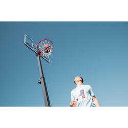 Kids'/Adult Basketball Hoop B5002.4m to 3.05m. Sets up and stores in 2 minutes