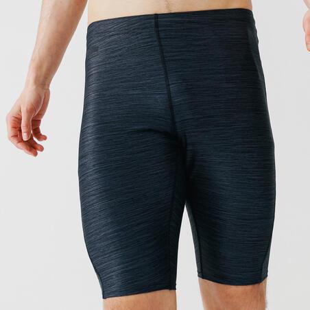 Run Dry + Men's Running Tight Shorts - Grey Abysses