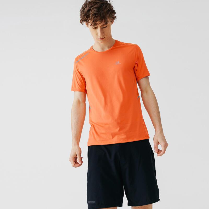 Erkek Turuncu Tişört / Koşu - RUN DRY +