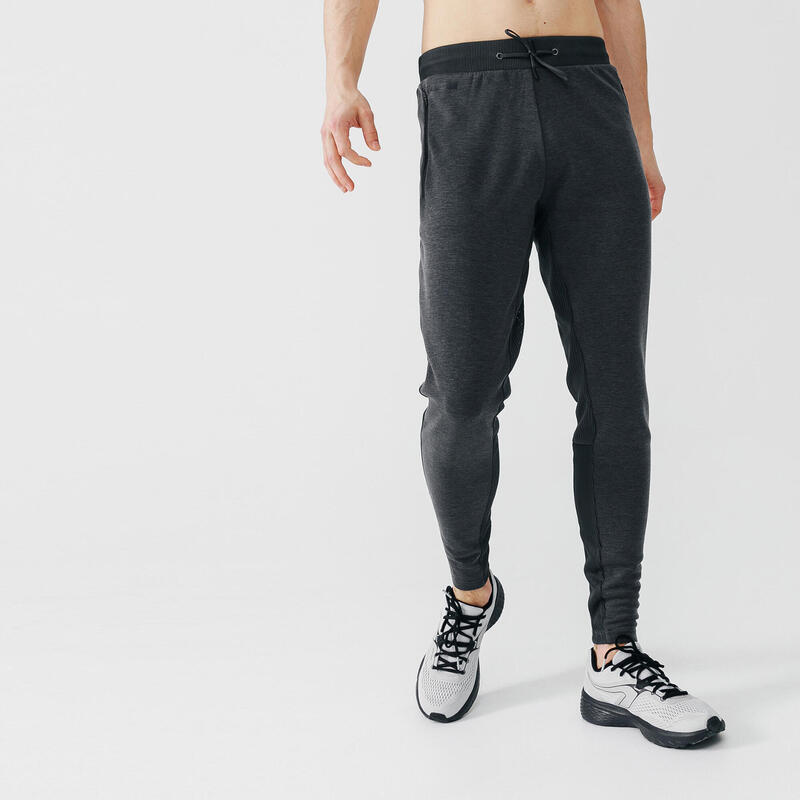 Spodnie do biegania męskie Kalenji Warm+ ocieplane