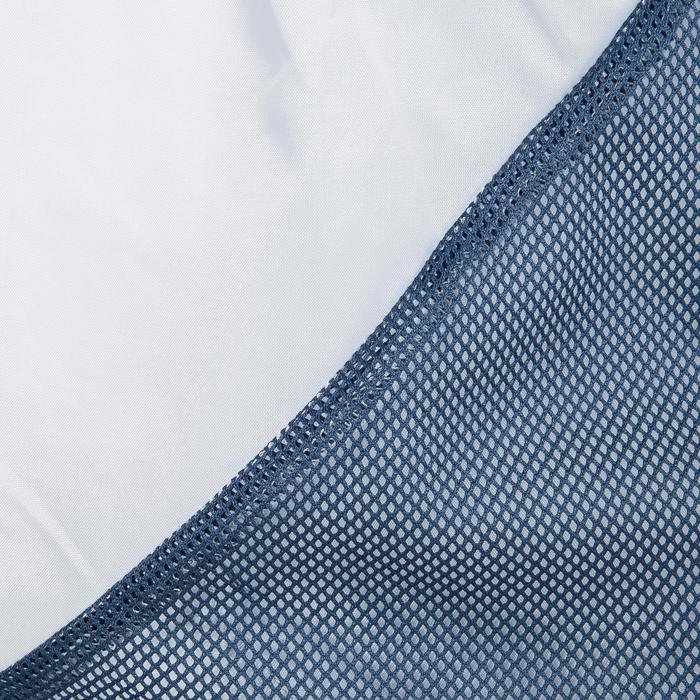 Chubasquero náutico 100 mujer azul