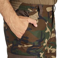 Jagdhose / Regenhose 100 warm camouflage