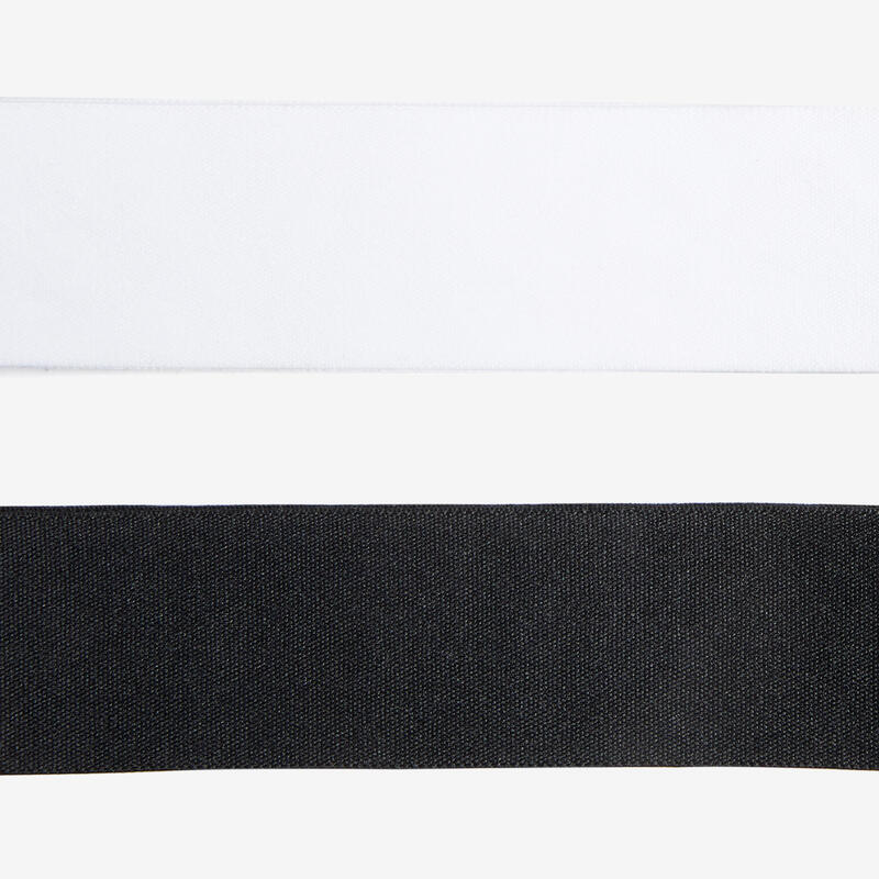 Girls' Headbands Twin-Pack - White/Black