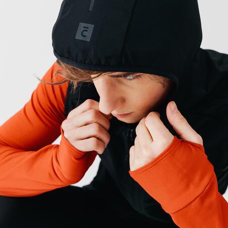 Kalenji Run Wind Men's Running Sleeveless Wind Jacket -black