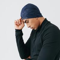 כובע מחמם לריצה – כחול נייבי
