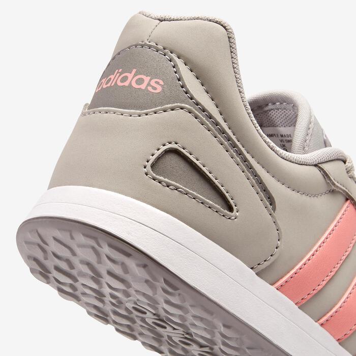 Chaussures marche enfant Adidas Switch gris/rose lacets
