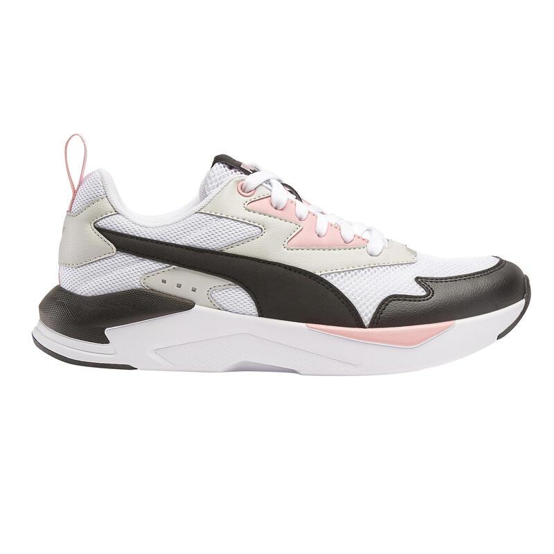 Chaussures marche urbaine PUMA X-RAY blanc/noir/rose
