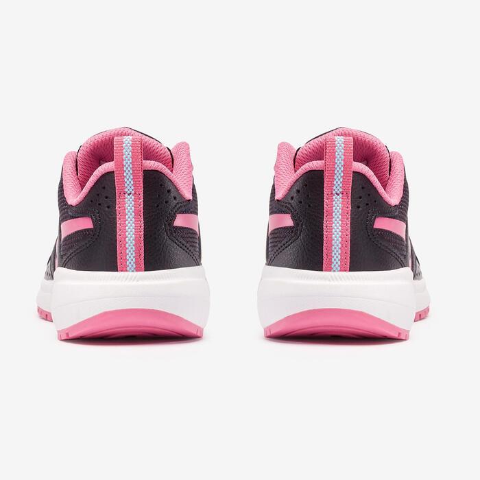 Reebok Road Supreme kid's walking shoes black/pink laces