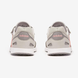 Adidas Switch kid's walking shoes grey/pink velcro