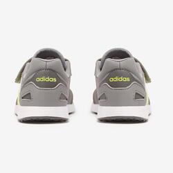 Calçado de Caminhada Criança Adidas Switch Cinza/Amarelo Velcro