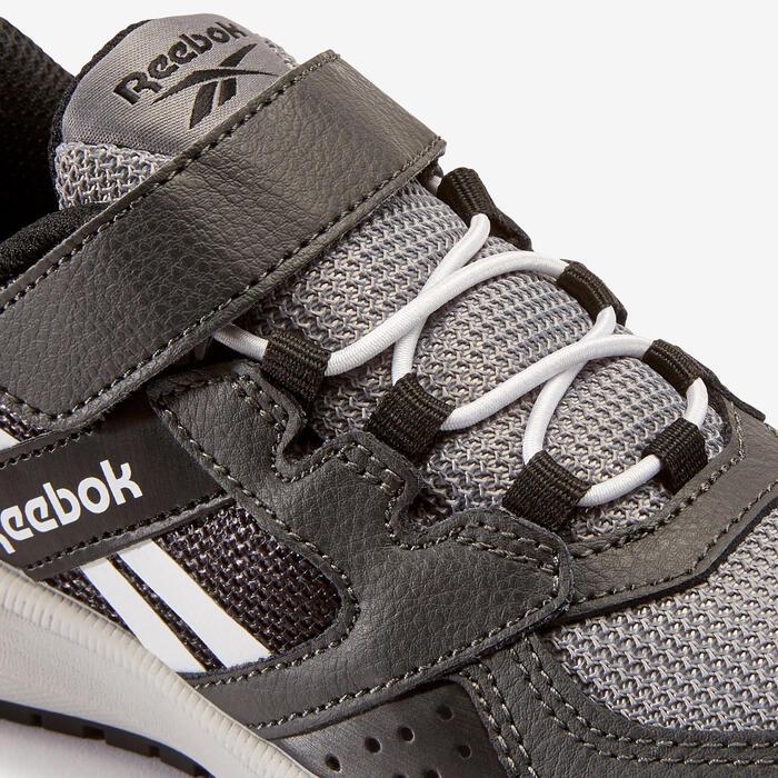 Calçado de Caminhada Criança Reebok Road Supreme Preto/Cinza Velcro