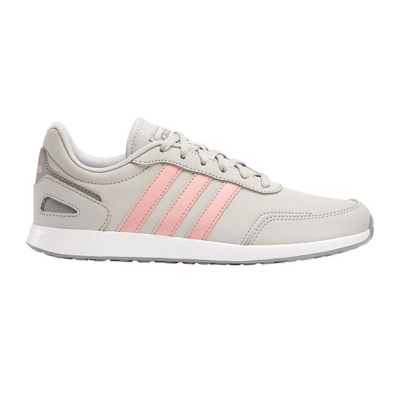 Zapatillas Caminar Adidas Switch Niños gris/rosa cordones