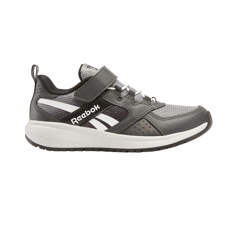 Chaussures de marche enfant Reebok Road Supreme noir/gris velcro