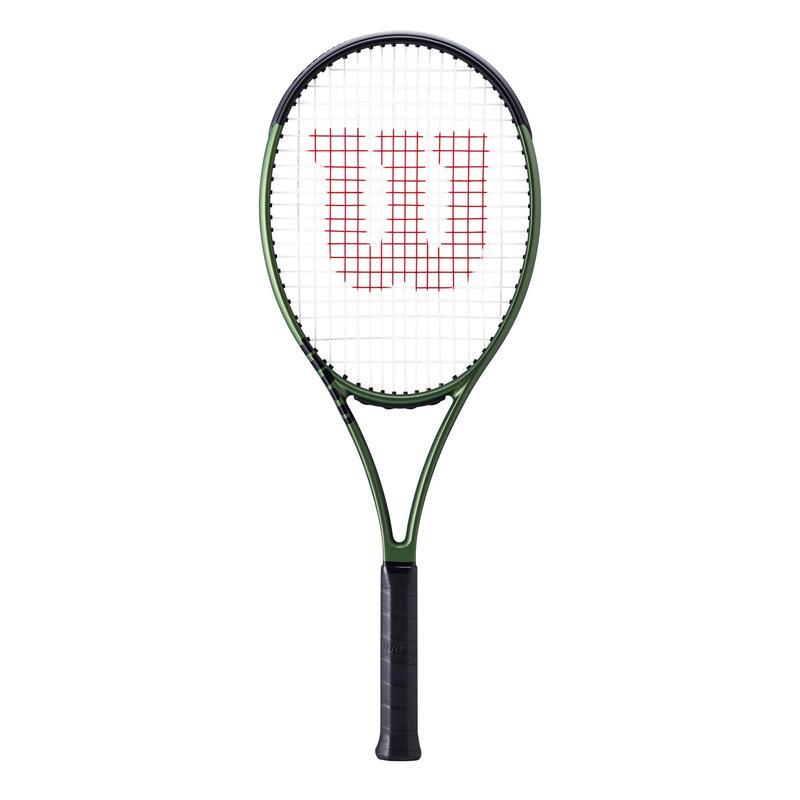 Raquette de tennis adulte WILSON BLADE 101L V8.0 Verte / Noire