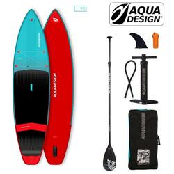 Stand Up Paddle gonflable de randonnée Aquadesign Tempo11'6''