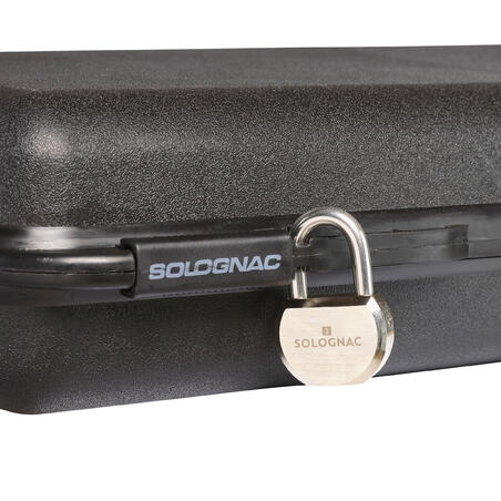 PADLOCK WITH KEY  FOR GUN AND AMMUNITION CASE