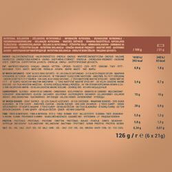 Barra de Cereais CLAK Chocolate 6 x 21g