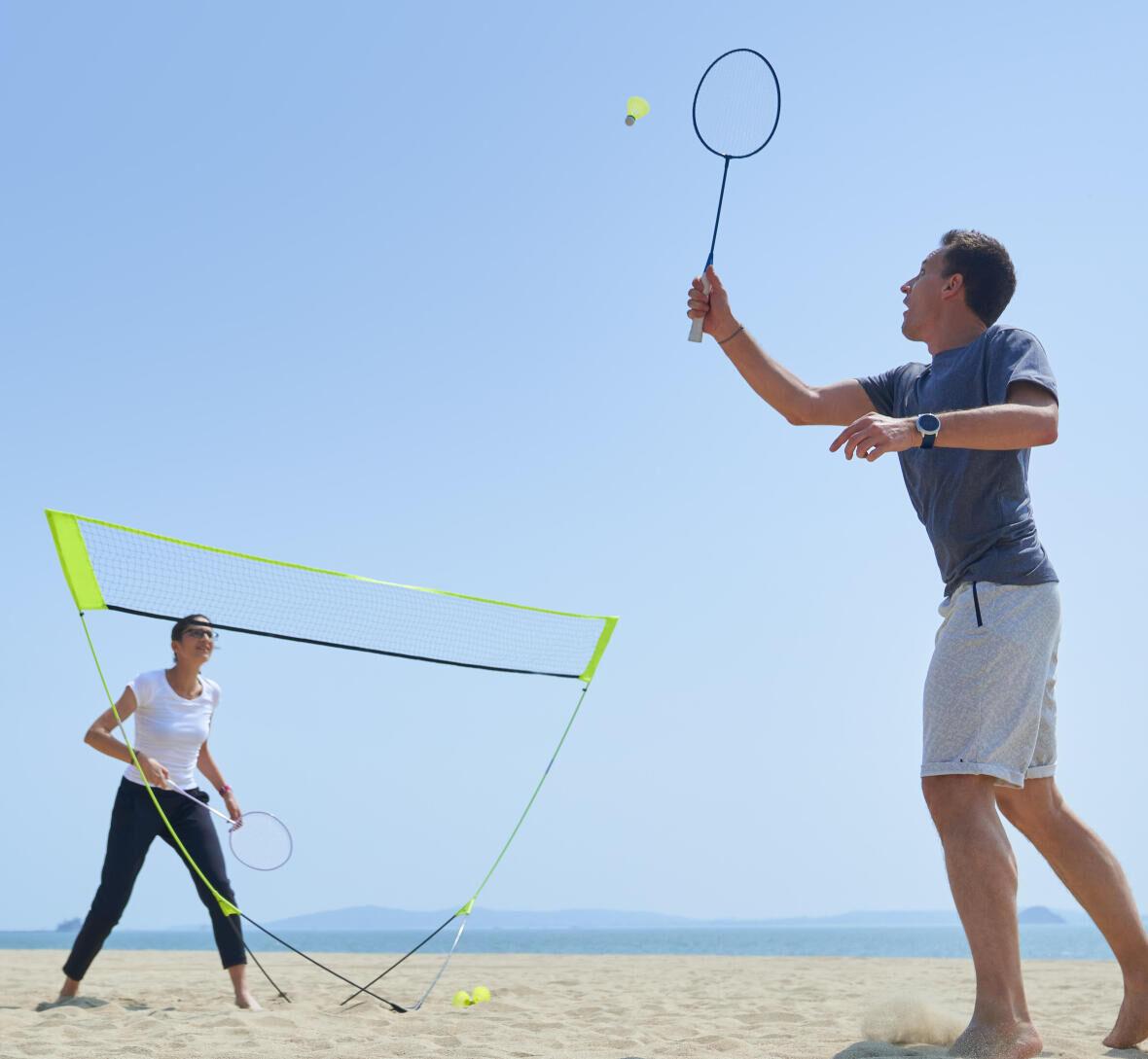 badminton-plage