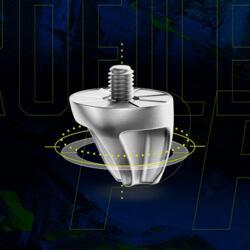Crampons Smartpower à visser aluminium 11/13mm rugby et football